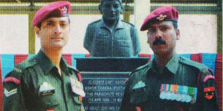Flame of Remembrance lit for Capt Harshan   More media reports