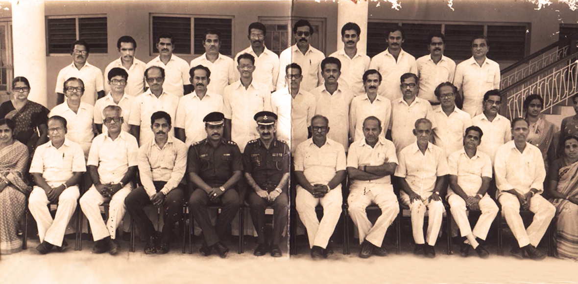 The Sainik School Academic Faculty - 1989