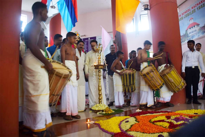 Onam celebrations 2014-Sainik School Kazhakootam