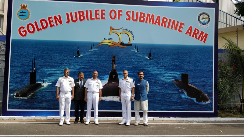 Kazhaks-Golden-Jubilee-Ce,ebrations-2017-Submarines-Indian-Navy